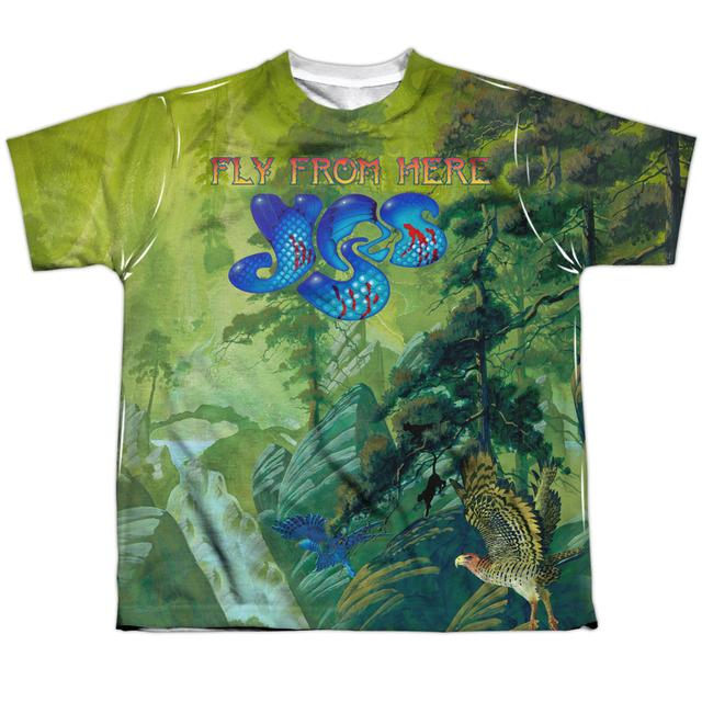 Yes Youth Shirt | FLY FROM HERE Sublimated Tee