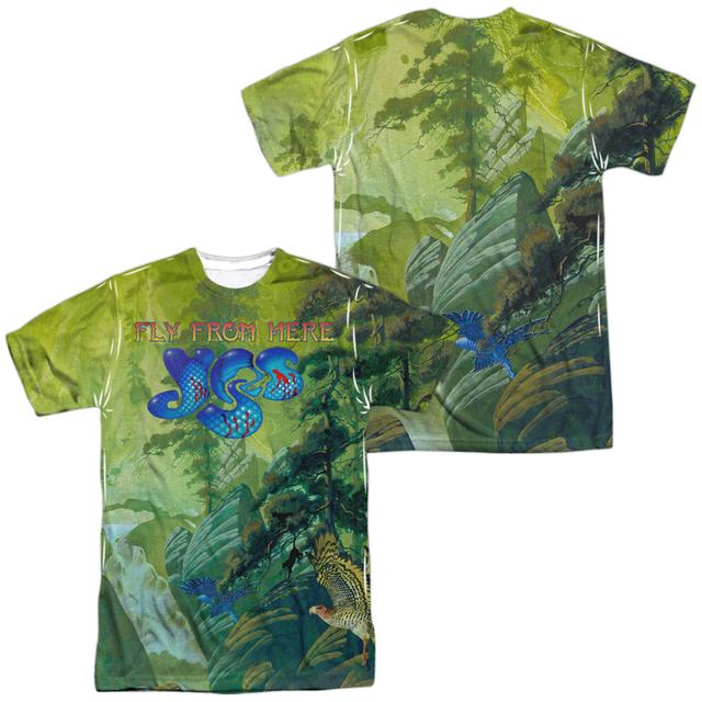 Yes Shirt | FLY FROM HERE (FRONT/BACK PRINT) Tee