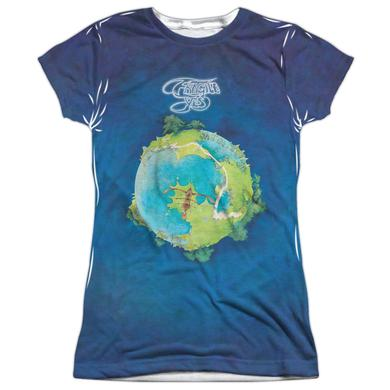 Yes Junior's T Shirt | FRAGILE Sublimated Tee