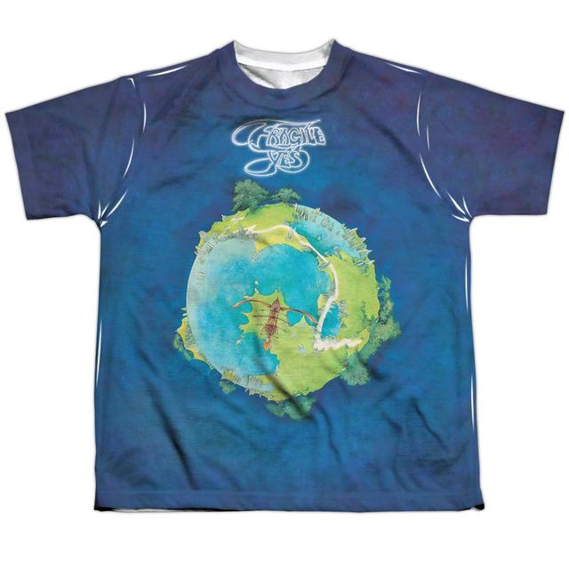 Yes Youth Shirt | FRAGILE Sublimated Tee
