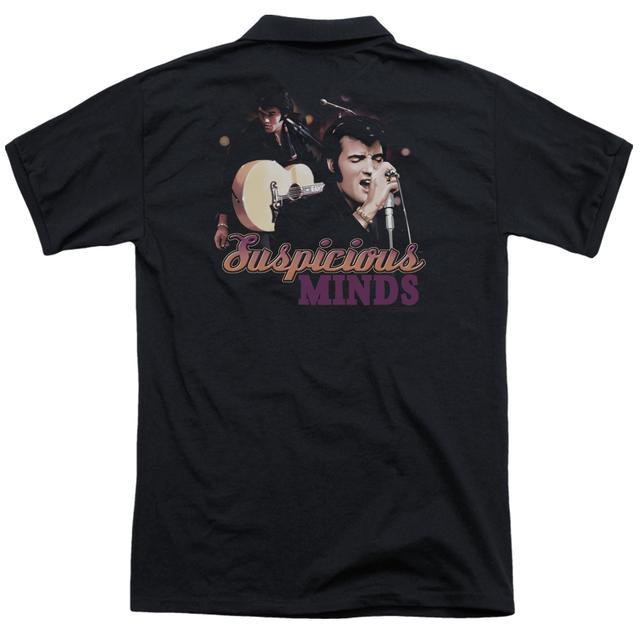 Elvis Presley SUSPICIOUS MINDS (BACK PRINT)
