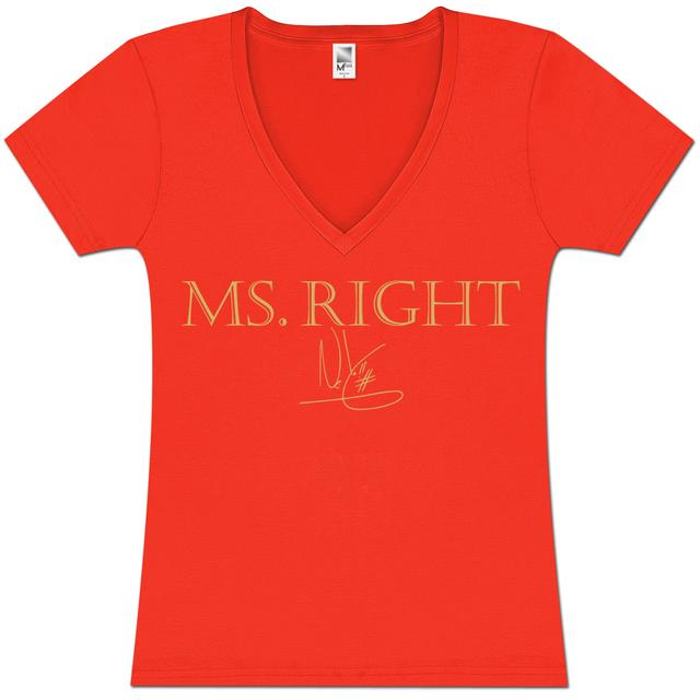 Ne-Yo Ms. Right Girlie T-Shirt