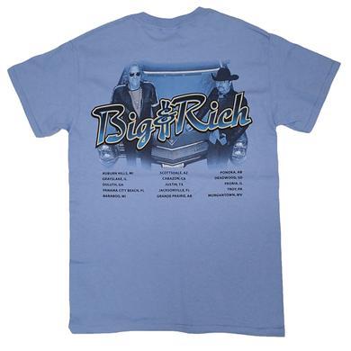 Big & Rich Blue Tour Tee