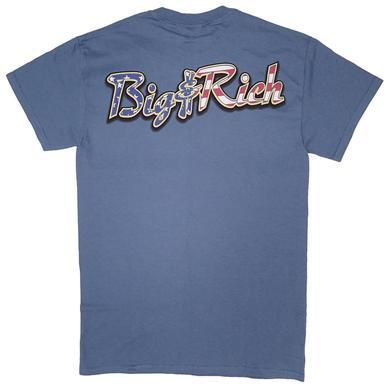 Big & Rich Blue Flag Tee