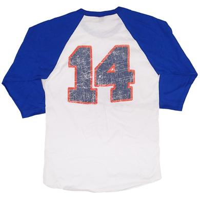 Big & Rich Blue and White Baseball Tee