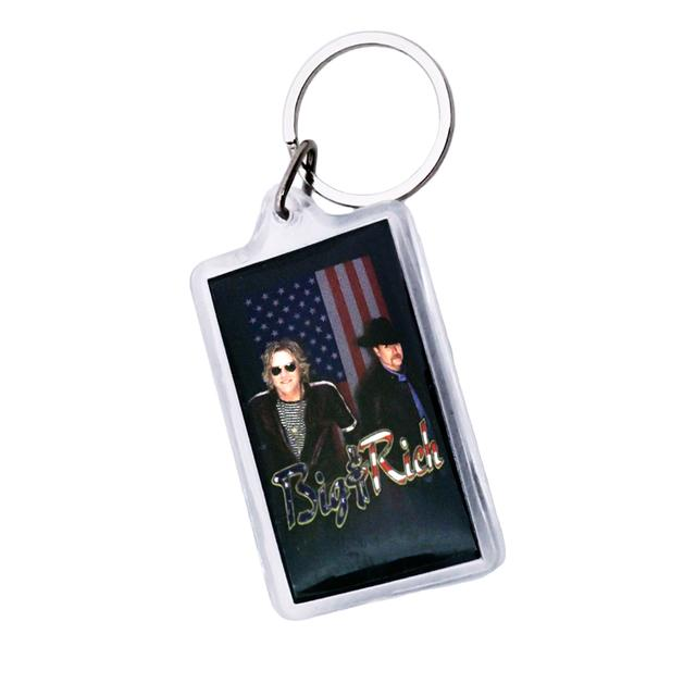 Big & Rich Flag Keychain