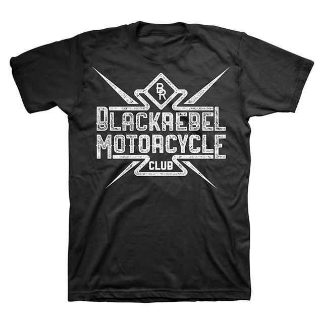Black Rebel Motorcycle Club BRMC Distressed Tee