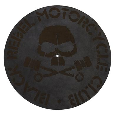 Black Rebel Motorcycle Club Skull Leather Turn Table Mat