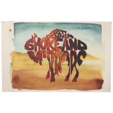Brett Dennen Smoke & Mirrors Bison Poster