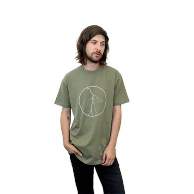 Calvin Harris Lightning Scoop Tee (Olive)