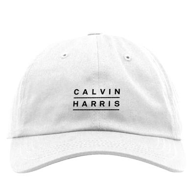 Calvin Harris Logo Hat (White)