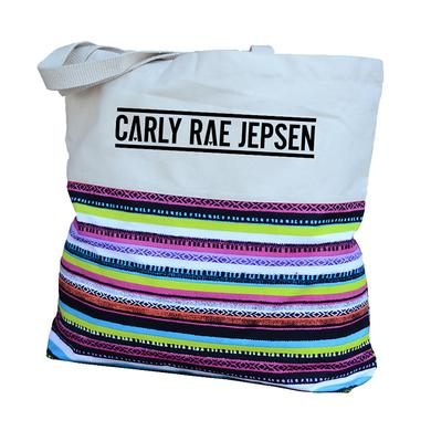 Carly Rae Jepsen Stripe Canvas Tote
