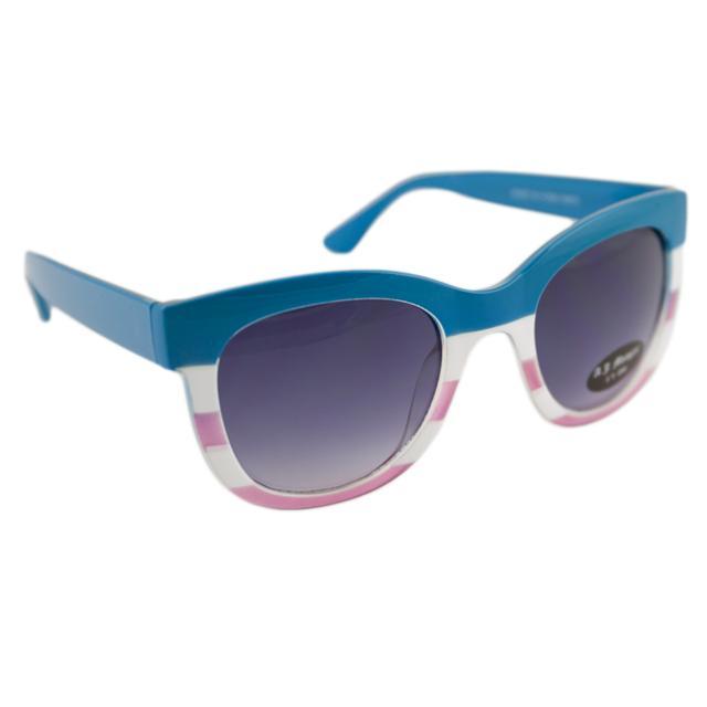Carly Rae Jepsen Stripe Sunglasses