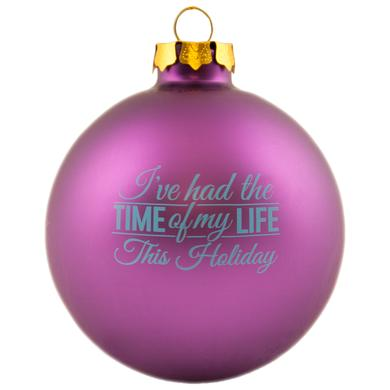 DIRTY DANCING Time Of My Life Ornament