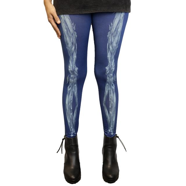 Ellie Goulding Skeleton Sublimated Leggings