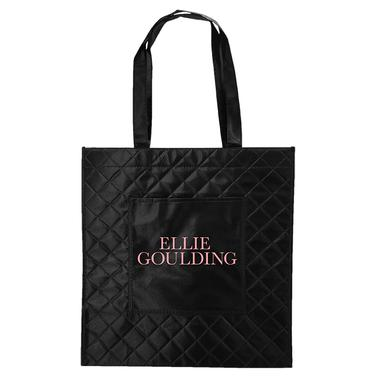 Ellie Goulding Quilted Logo Tote
