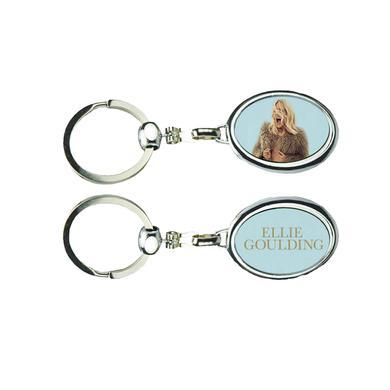 Ellie Goulding Oval Delirium Keychain