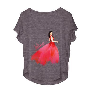 Idina Menzel Red Dress Dolman