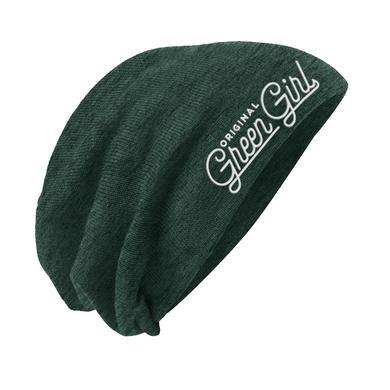 Idina Menzel Green Girl Beanie