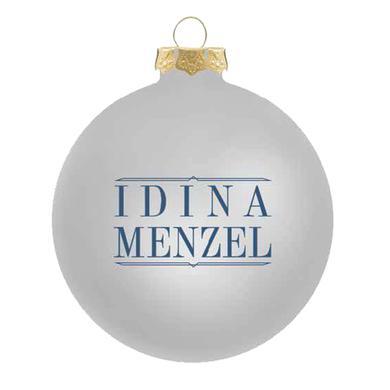 Idina Menzel Logo Ornament