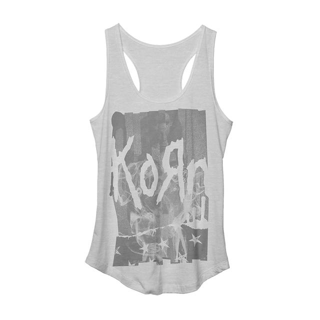 KoRn Star Ladies Racerback Tank