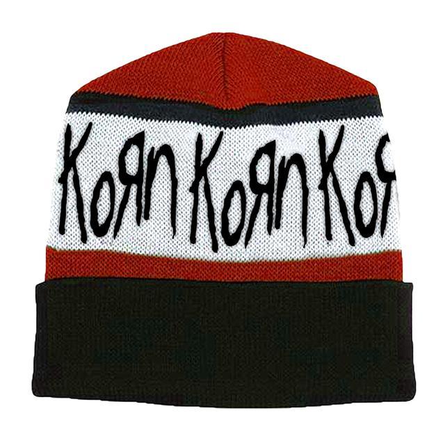 KoRn Logo Knit Beanie