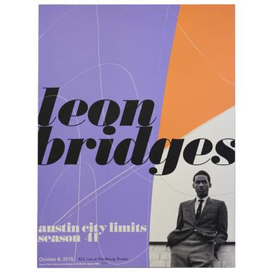 Leon Bridges Limited Edition ACL Poster