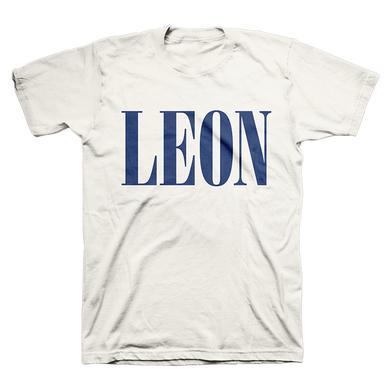 Leon Bridges Cream Logo Tee