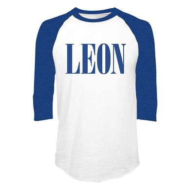 Leon Bridges Leon Logo Baseball Raglan