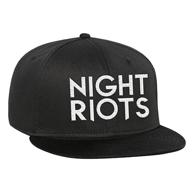 Night Riots Logo Snapback Hat