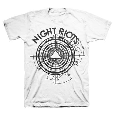 Night Riots Pyramid Future Tee