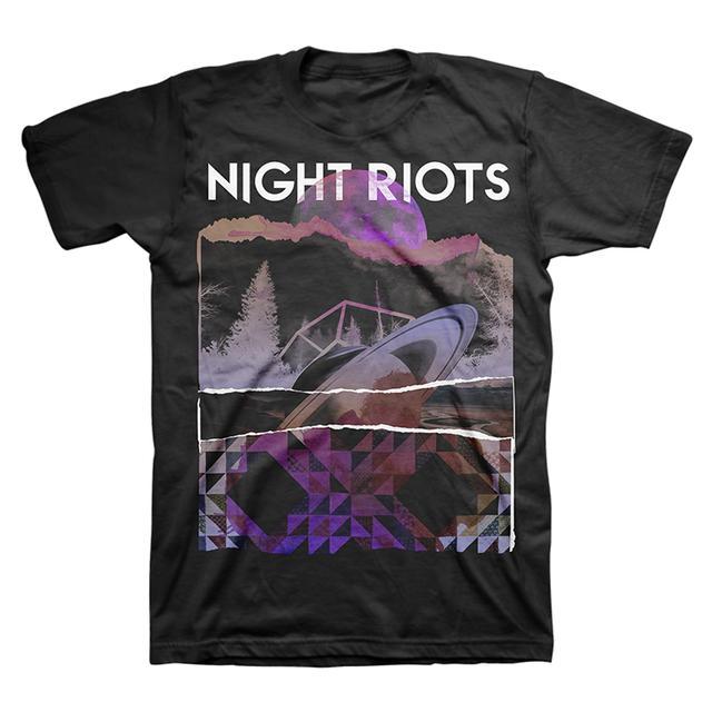 Night Riots Saturn Tee