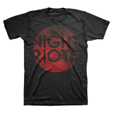 Night Riots Blood Red Moon Tee