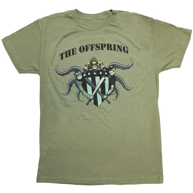 The Offspring Olive Crest Tee