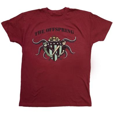 The Offspring Red Crest Tee