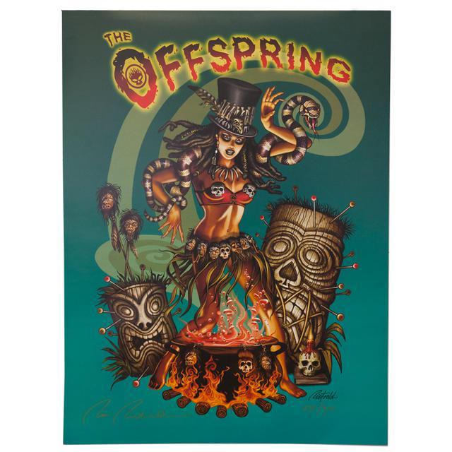 The Offspring Tiki Poster