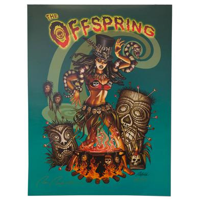 The Offspring Tiki Poster