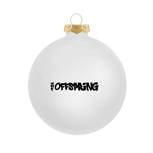 The Offspring Black on white logo ornament