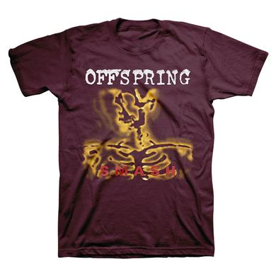 The Offspring Maroon Smash Tee