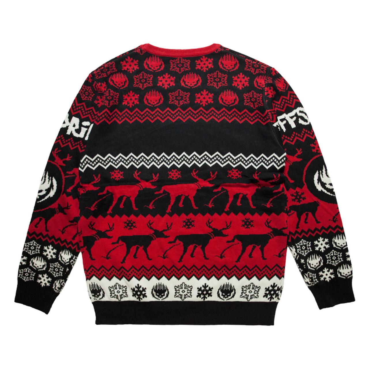 the offspring ugly christmas sweater tap to expand - Black Ugly Christmas Sweater