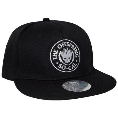 The Offspring Black So-Cal Flat Bill Cap