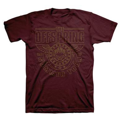 The Offspring Maroon Wings Canada Tour Tee