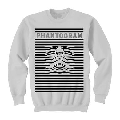 Phantogram Stripe Face Crewneck