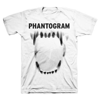 Phantogram White Jaws Tee