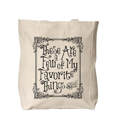 SOUND OF MUSIC Favorite Things Totebag