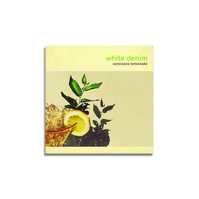 White Denim Corsicana Lemonade CD