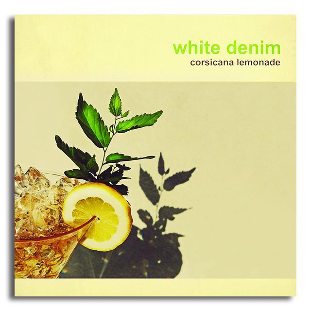 White Denim Corsicana Lemonade Vinyl