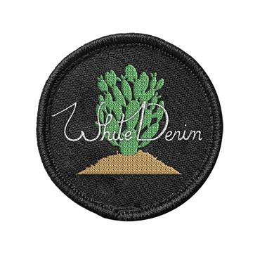 White Denim Patch
