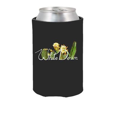 White Denim Koozie