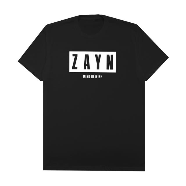 Zayn Mind Of Mine Black Tee